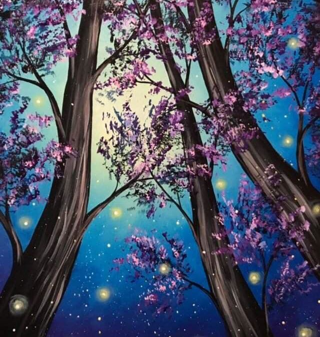 Paint Party: Firefly Forest