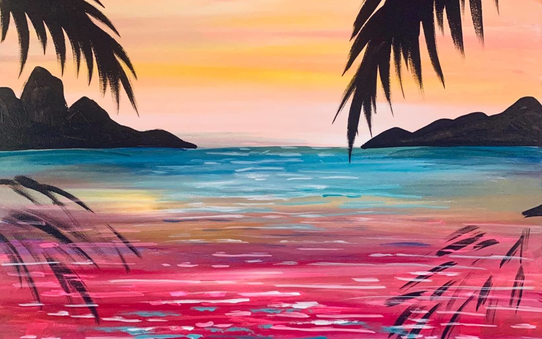 Paint Party: I Need a Vacation