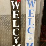 Create a Wood Welcome Porch Sign